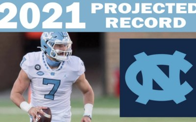 North Carolina 2021 Record Projection from SG1 Sports