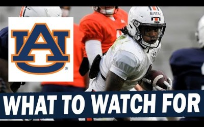 What to Watch for in Auburn's A-Day Game