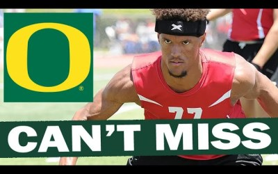 Cyrus Moss is Oregon's Biggest Can't Miss Target