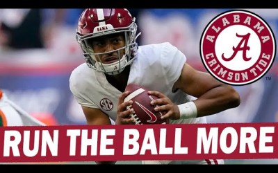 Bryce Young Needs to Run the Ball More