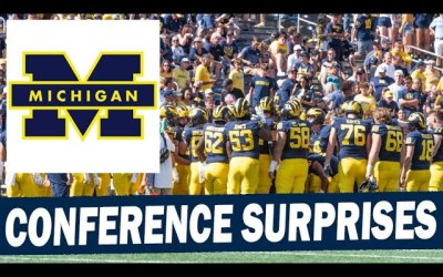 Conference Surprises in the Big Ten