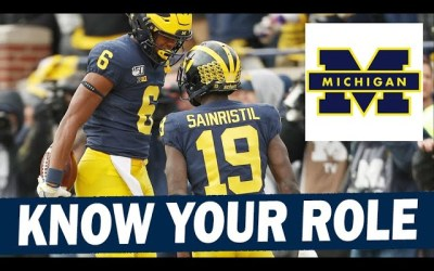 Michigan Wide Receivers are Learning Their Roles