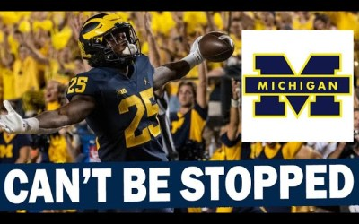 Michigan's Run Game Can't Be Stopped in First 3 Games