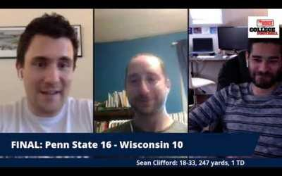 Penn State WINS!!! / Wisconsin Game INSTANT ANALYSIS