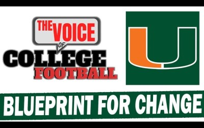 Blueprint For Changing Miami Football