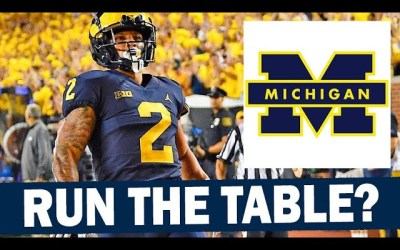 Can Michigan Run the Table and Go 12-0?