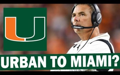 Does Miami Have Any Chance of Landing Urban Meyer?