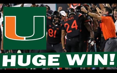 Miami Gets Huge Win Over NC State – Post Game Reaction