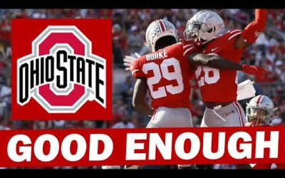 Ohio State's Defense Hasn't Been Great… But It's Been Good Enough