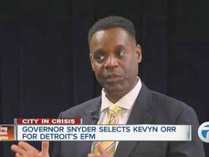 Kevyn Orr, Detroit EM