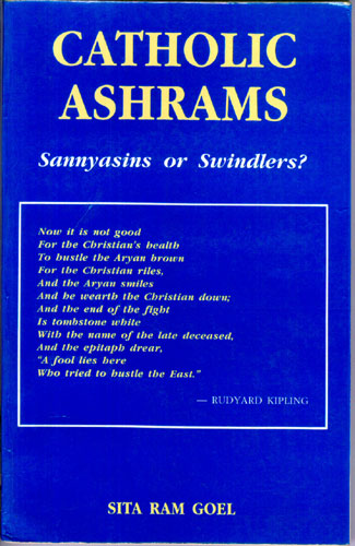 Catholic Ashrams: Sannyasins or Swindlers