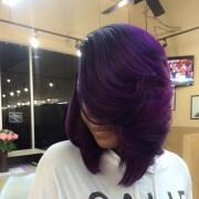 ways wear purple hair flawlessly