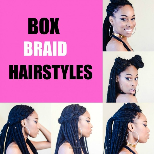 5 simple box braid hairstyles that turn heads - voice of hair