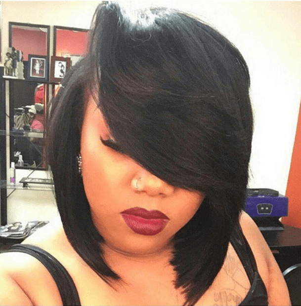 How To Achieve A Banging Bob With A Quick Weave Voice Of Hair