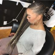 popular feed-in braids