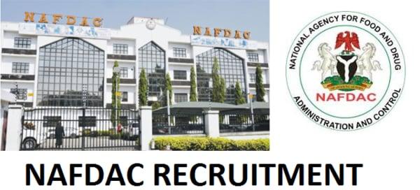 NAFDAC Recruitment Logo