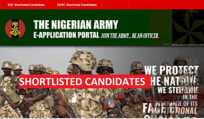 Nigerian Army Shortlisted Candidates List Out Check Your Names Here » Voice of Nigeria