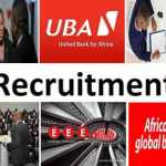 united bank africa recruitment