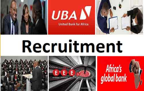 united bank africa recruitment
