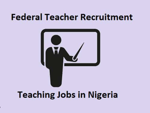 Federal Teacher Recruitment 2019