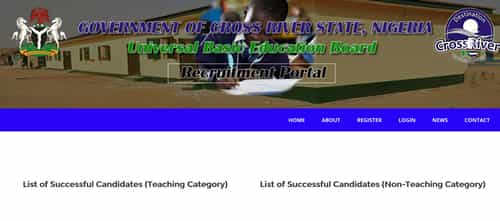 SUBEB successful candidates list - shortlisted