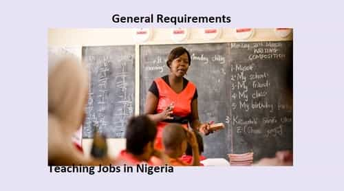 Teaching Jobs in Nigeria