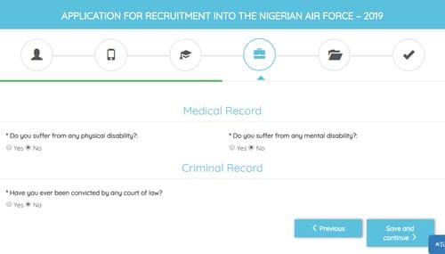 naf bmtc application form 2019