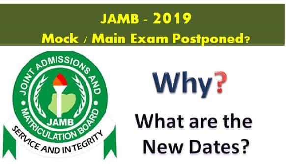 jamb 2019 mock exam