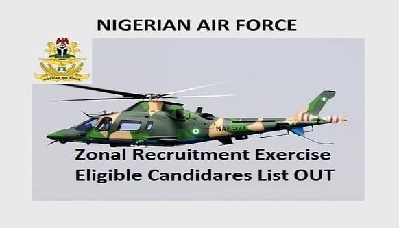 nigerian airorce shortlist out