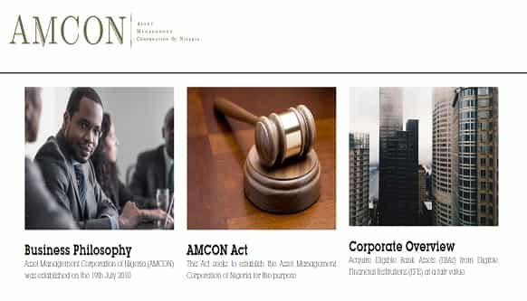 www.amcon.com.ng amcon portal