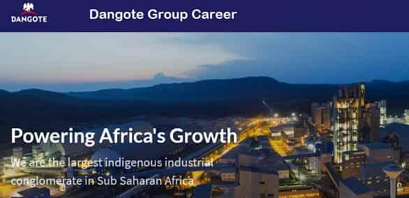 Dangote Career Registration