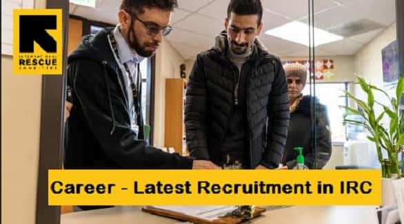 irc recruitment
