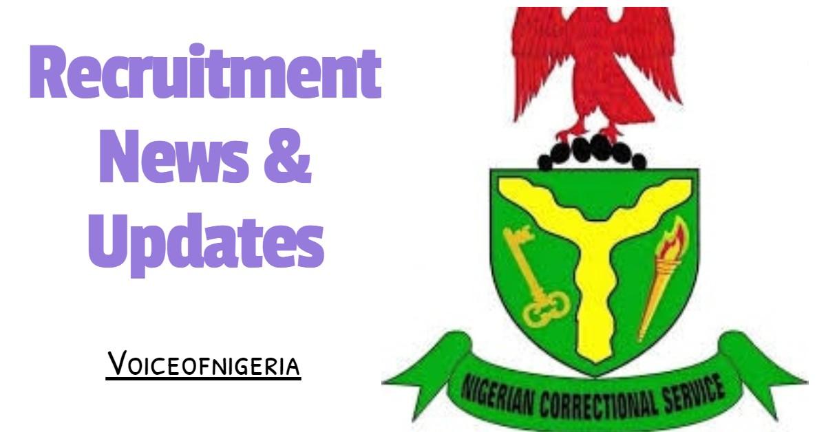 Nigeria Prisons Service Recruitment