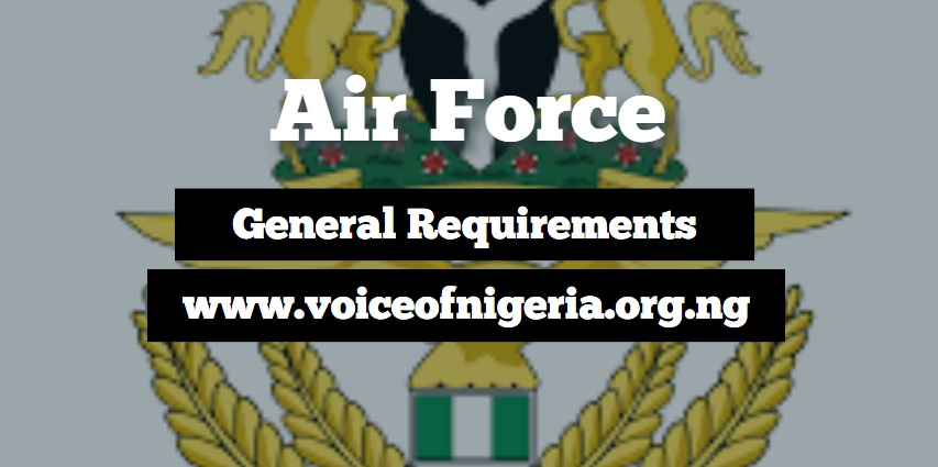 airforce recruitment requirements