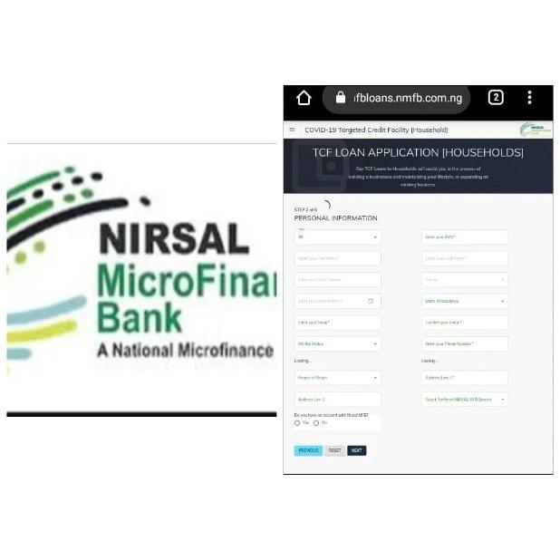 nmfbloans.nmfb.com.ng portal