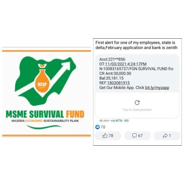 survival fund message 1