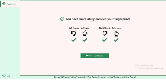 fingerprint enrolment 2