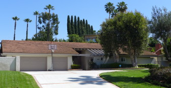 A home owned by Andrew Do in unincorporated Santa Ana, a part of the Third Supervisorial district known as North Tustin.
