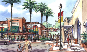 A rendering of the proposed Westgate development.