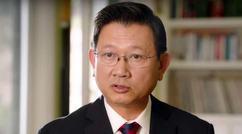 OC Supervisor Andrew Do in a still frame from one of his campaign videos.