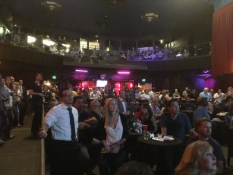 OC Democrats gather at Yost Theatre in Santa Ana for Election Night 2016