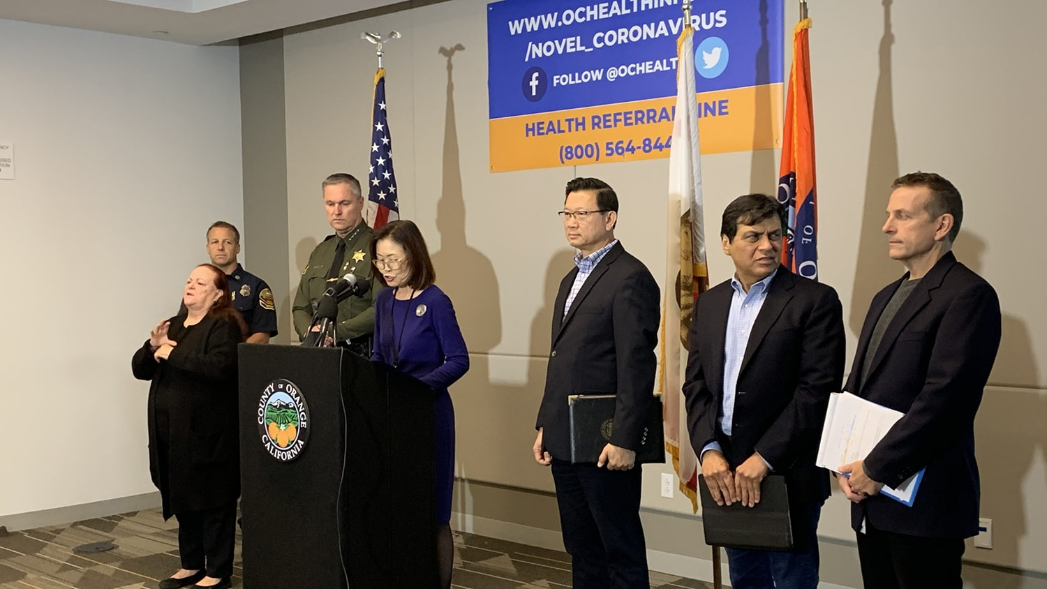 Orange County Confirms First Case of Locally Transmitted ...