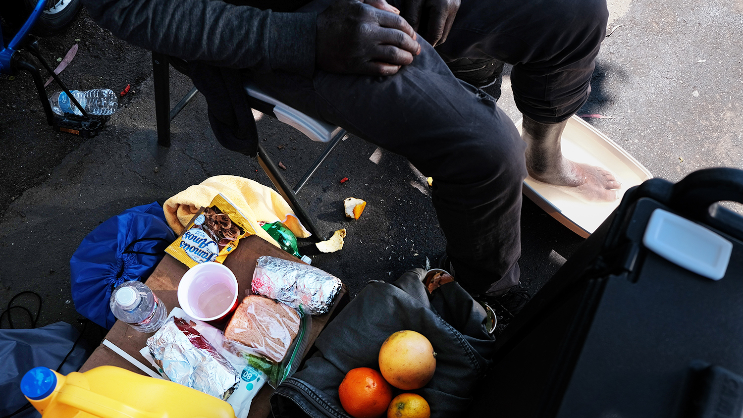 Charitable Deeds to Feed Homeless People Rouse Opposition Across Orange County