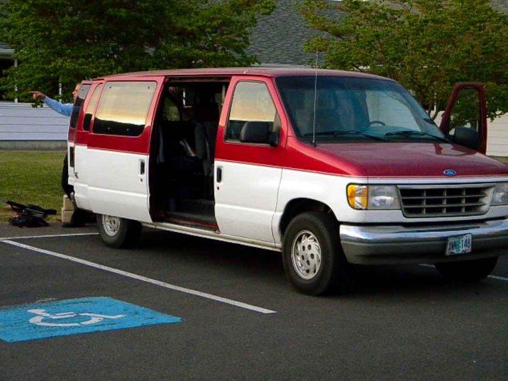 Paul Smucker loaned us his van for the week