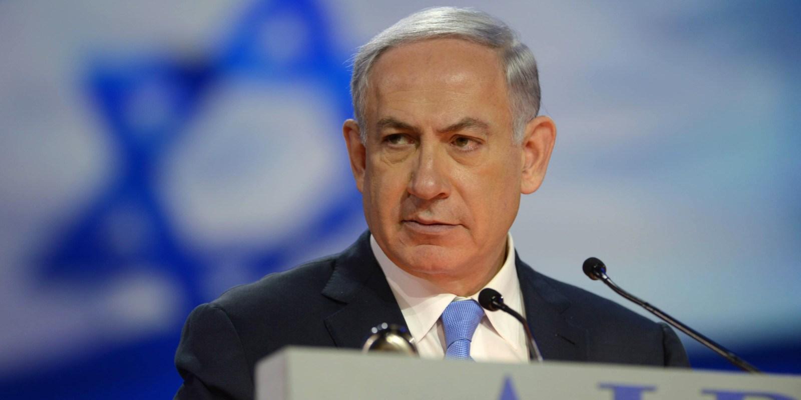 Netanyahu blasts Kerry's speech