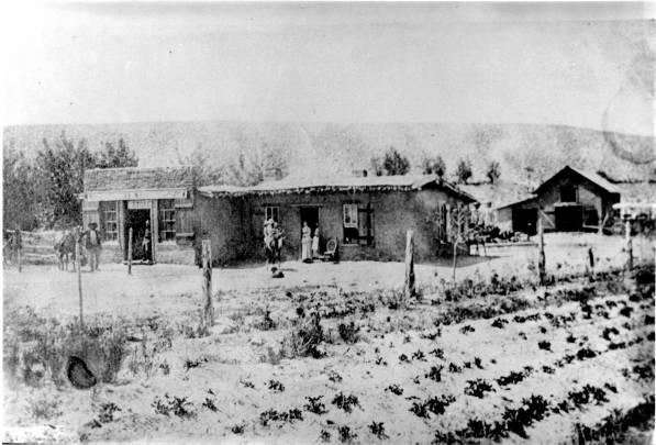 A.F. Miller Store, Farmington, 1885.