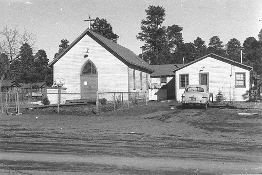 The old church at McNary.