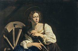 caravaggio_-_saint_catherine_of_alexandria_-_google_art_project