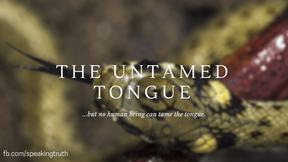 The Untamed Tongue