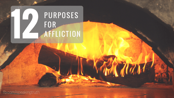 12 Purposes for Affliction